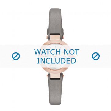 Klockarmband DKNY NY2408 Läder Grå 8mm