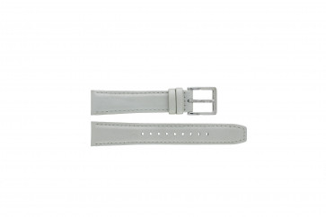 Klockarmband DKNY NY8585 Läder Grå 18mm