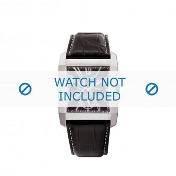Klockarmband Police PL-10966MS/02 Läder Svart 26mm
