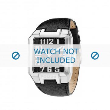 Police klockarmband PL-13751JS/02 Läder Svart