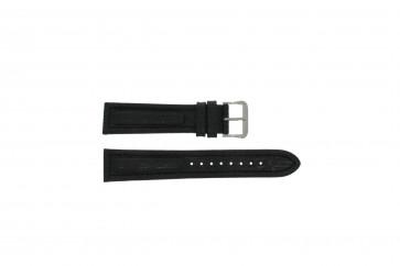 Pulsar klockarmband Y182-6C10 Läder Svart 20mm