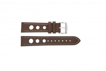 Klockarmband Universell 682R.02 Läder Brun 18mm