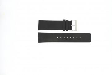Skagen klockarmband 833XLSLB / 833XLSLN Läder Svart 25mm