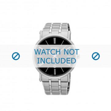 Klockarmband Seiko 7N39-0CA0 / SKP393P1 Stål 24mm