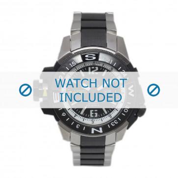Klockarmband Seiko 7S36-02K0 / SKZ319K1 / 3371NG Stål Polykromi 22mm