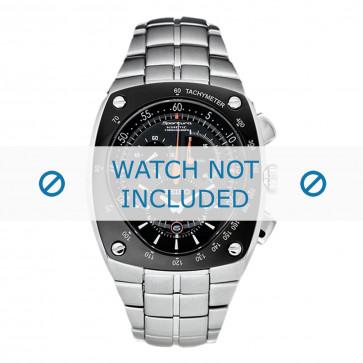 Klockarmband Seiko 7L22-0AD0 / SNL015P1 / 33V1JZ Stål 15mm
