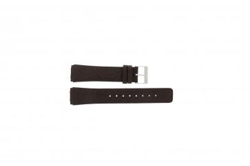 Klockarmband Skagen 331XLSLD1 / 331XLSL1 Läder Brun 20mm