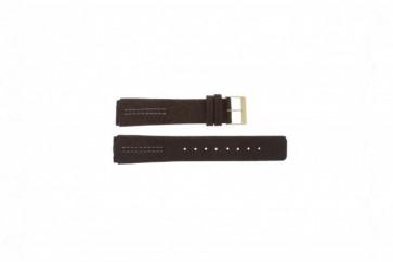 Klockarmband Skagen 433LGL1 Läder Brun 18mm