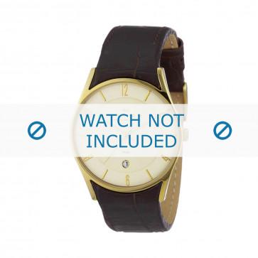 Skagen klockarmband 474XLGL Läder Brun 24mm