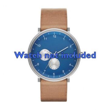 Klockarmband Skagen SKW6167 Läder Brun 20mm