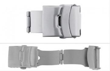 Låsanordning SL661 för Klockarmband i Läder  12,14,16,18,20, 22mm