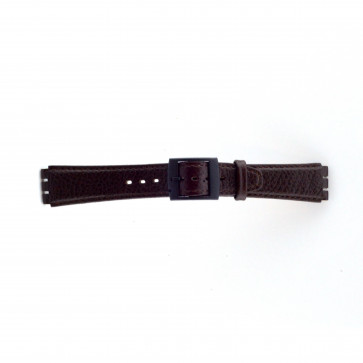 Rem passande Swatch brunt 17mm PVK-SC04.02