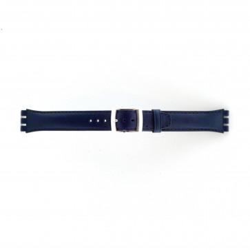 Rem för Swatch marine blått 19mm