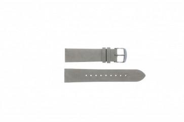 Timex klockarmband T2N795 Läder Grå 20mm