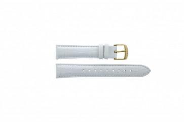 Timex klockarmband T2P071 Läder Vitt 18mm
