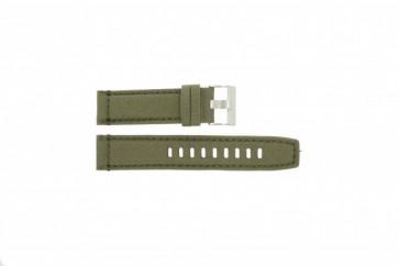 Timex klockarmband T49822 Läder Grönt 22mm