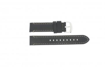 Timex klockarmband TW2P58800 Läder Svart 20mm