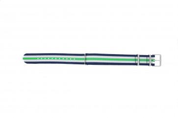 Timex klockarmband TW7C07000 Textil Blå 20mm