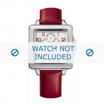 Klockarmband Tommy Hilfiger TH-65-3-14-0786 Läder Röd