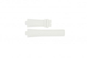 Breil klockarmband TW0394 / F660012788 Läder Vit 12mm + sömmar vitt