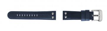 TW Steel klockarmband TW401 Läder Blå 24mm