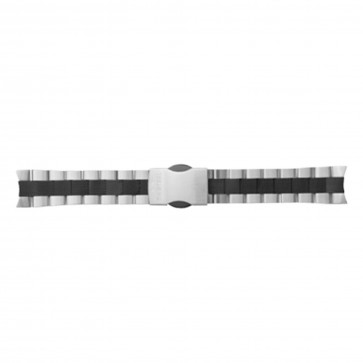 TW Steel klockarmband TWB125 Rostfritt stål Ilverfärgad 22mm