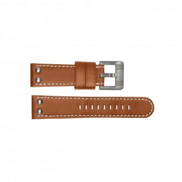 Klockarmband TW Steel TWB19 Läder Brun 24mm