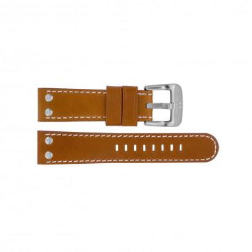 Klockarmband TW Steel TWB23L Läder Brun 22mm