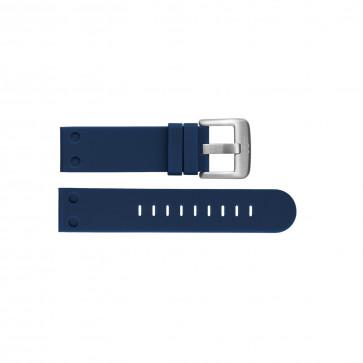Klockarmband TW Steel TWB586 Silikon Blå 24mm