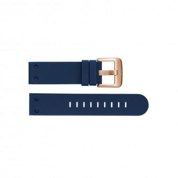 Klockarmband TW Steel TWB588 Silikon Blå 24mm