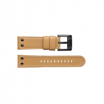 Klockarmband TW Steel TWB65 Läder Brun 22mm