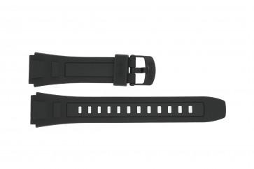 Klockarmband Casio WV-59E-1AV / WV-59E-1AV Plast Svart 20mm