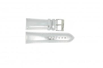 Klockarmband Universell 369.31 Läder Grå 30mm