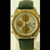 Klockarmband Seiko 7T42 6A0B / SDX014J1 Läder Svart 20mm