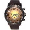 Klockarmband Fossil BQ2080 Läder Svart 24mm