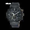 Klockarmband Pulsar PZ5071X1 / VR42-X008 / PPG045X Läder Svart 20mm