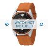 Armani klockarmband AR0526 Silikon Apelsin 23mm