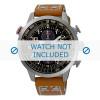 Klockarmband Seiko V176-0AG0 / SSC421P1 / L0F8011J0 Läder Konjak 20mm