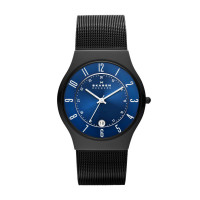Armbandsklocka Skagen Grenen T233XLTMN Analog Kvartsur Män