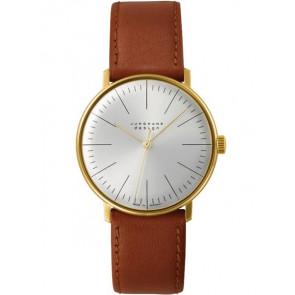 Klockarmband Junghans 027/5703.00 Läder Ljusbrun