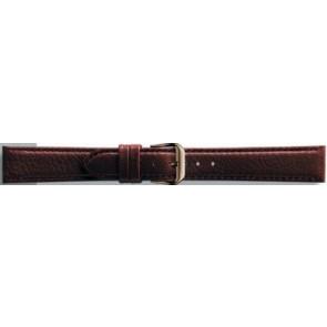 Klockarmband Universell 054.02 Läder Brun 10mm