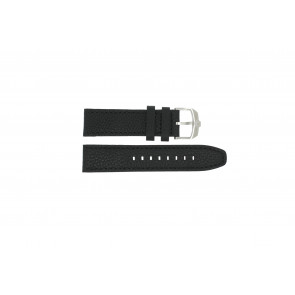 Swiss Military Hanowa klockarmband 06-4224.04.007 Läder Svart 22mm + sömmar svart
