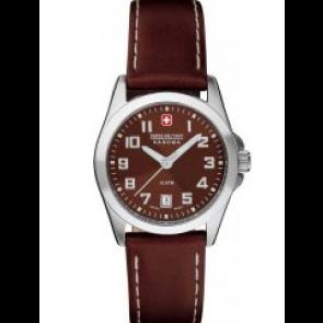 Klockarmband Swiss Military Hanowa 06-6030.04.005.05 / 6-6030 Läder Brun 15mm