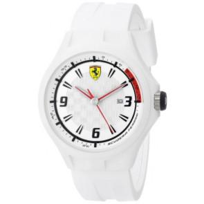 Ferrari klockarmband SF101.1 / 0830003 / SF689309000 / Scuderia Gummi Vit 22mm