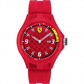 Ferrari klockarmband 0830007 / SF689300005 / Scuderia Gummi Röd 22mm