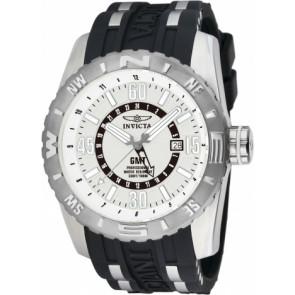 Klockarmband Invicta 10681.01 Gummi Svart