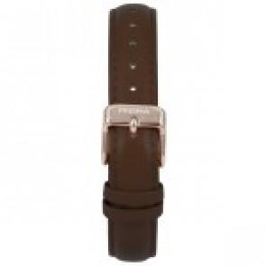 Klockarmband Prisma 1441 Läder Mörk brun 14mm