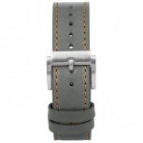 Klockarmband Prisma 1591 Läder Grå 22mm