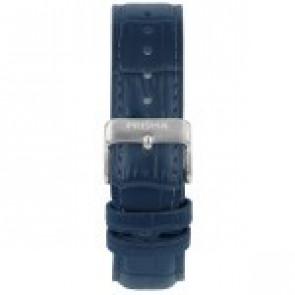 Klockarmband Prisma 1601 Läder Blå 21mm