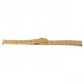 Klockarmband Prisma 1691 Rostfritt stål Guldpläterad 16mm